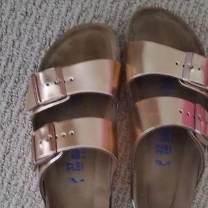 Birkenstock Shoes - Birkenstock Copper Arizona Sandal 37